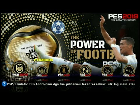 PES 2015 PSP Update 2019 New Mod Textures 40MB Spesial CR7