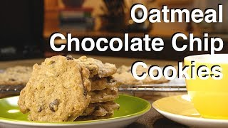 Oatmeal Chocolate Chip Cookies Recipe - Legourmettv