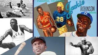 Jackie Robinson - Baseball Great & Super Athlete