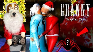 🔔Happy New Year Update ❄️ Granny: Chapter Two 🎄Granny is Snow Queen 🎅Grandpa is Santa Claus 🎁