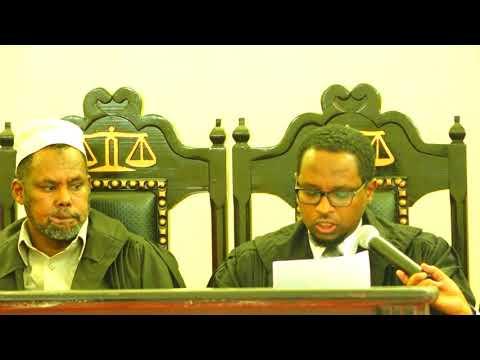 Deg deg: Maxkamada Sare Ee Somaliland Oo Ku Dhawaaqday Natiijada Doorashada.