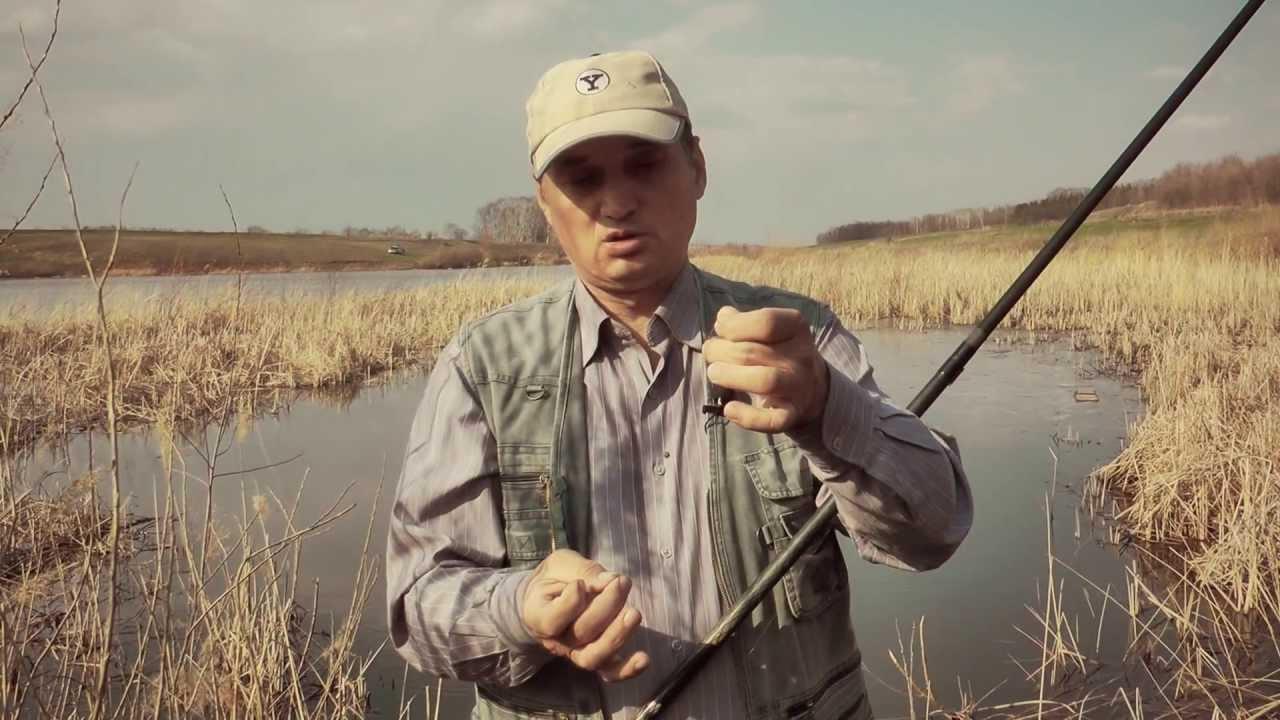 [Школа рыболова] - Ловля плотвы весной (часть 1)