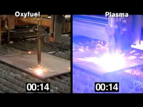 Plasma vs. Oxyfuel