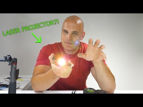 This Phone has a LASER PROJECTOR built in?!