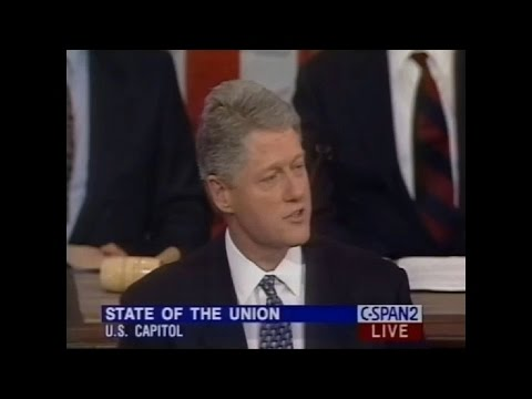 Bill Clinton Was Trump Back In 1995 - Illegal Immigration