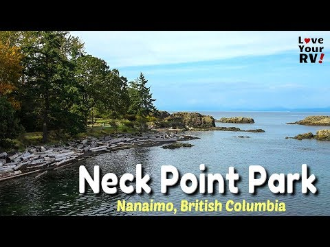 Neck Point Park In Nanaimo On Vancouver Island, BC