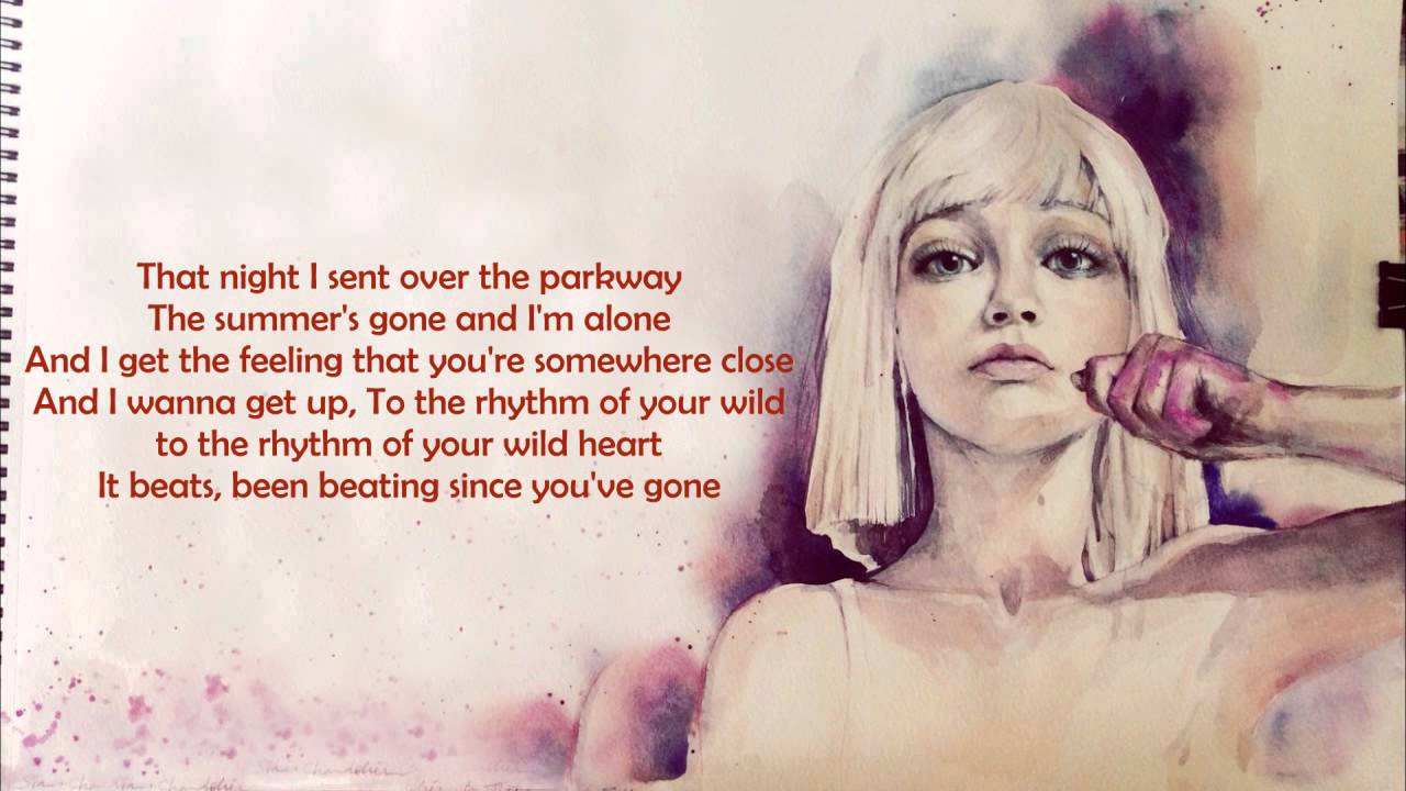 sia-like-a-river-runs-bleachers-cover-lyrics-scene-lyrics