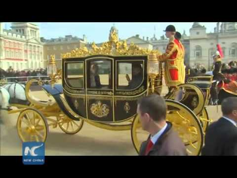 Highlights: Chinese president visits UK