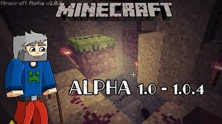 Histoire de minecraft #2  Alpha 1.0 - 1.0.4 - La pierre rouge