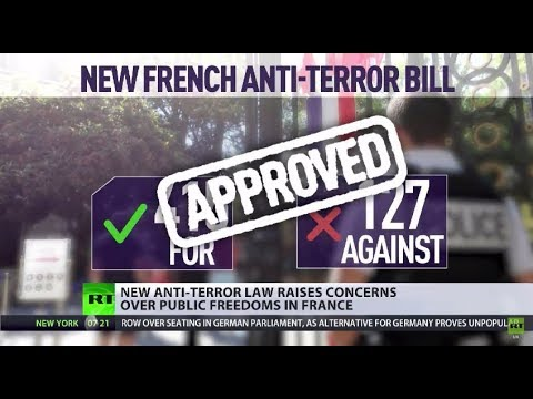 'Nobody is safe': French Parliament backs controversial anti-terrorism law