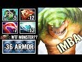 7.21 CANCER ARMOR REDUCE!! Tidehunter Best Build Dota 2 gameplay by MinD_ContRoL