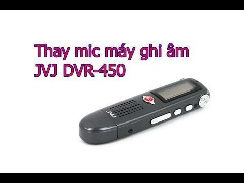Thay Mic Máy Ghi âm JVJ DVR-450
