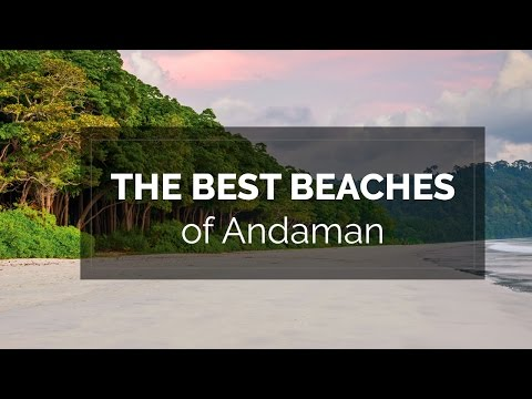 The best beaches of Andaman