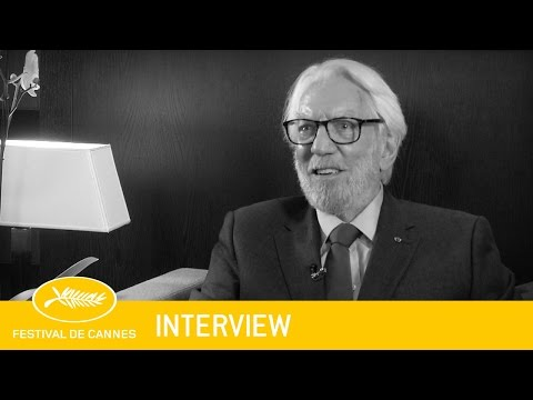 DONALD SUTHERLAND - Sujet - VF - Cannes 2016
