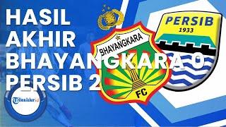 Hasil Akhir Bhayangkara Fc Vs Persib Bandung (0 - 2) | Liga 1 2021