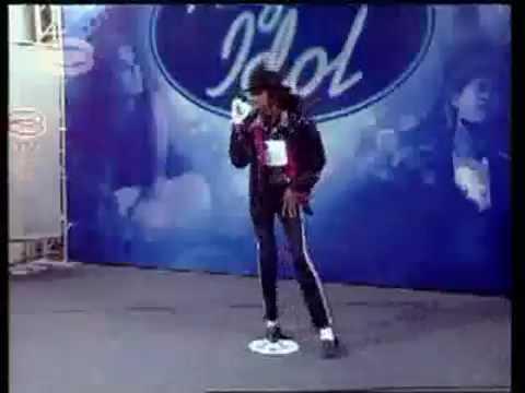 Michael Jackson impersonator lol
