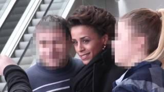 Ola Szwed w mini i długich kozakach wychodzi z TVP