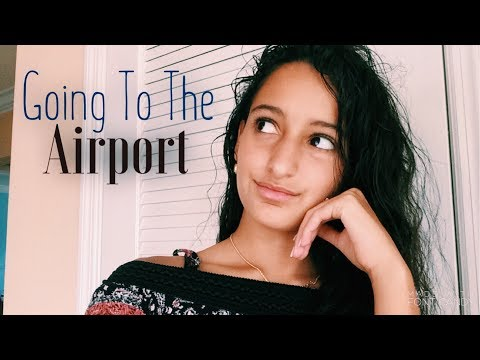 Going to the Airport + car broke down | Vlog #1