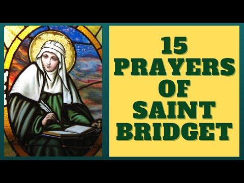 15 Prayers of St. Bridget of Sweden --- (1 Year Devotion)