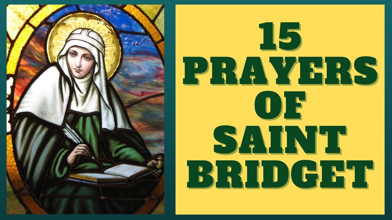 15 Prayers of St. Bridget --- (1 Year Devotion)