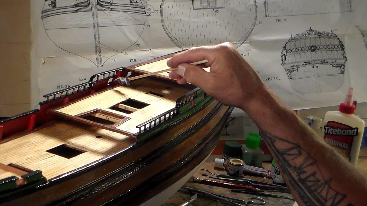 Billing Boats NORSKE LOVE Dedication build Video 6 - YouTube