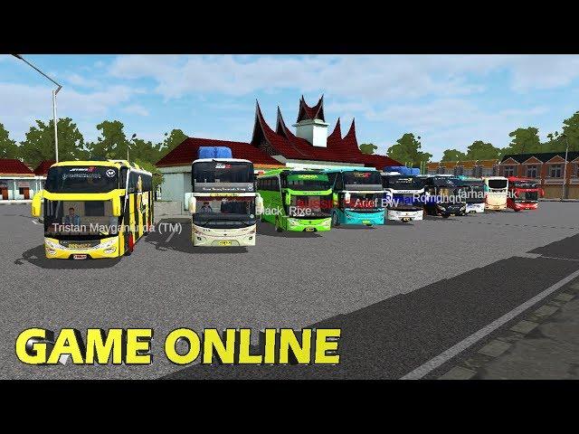 Rombongan Driver Bussid Tingkat Internasional