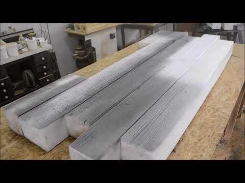 Как сделать кровать из бруса своими руками