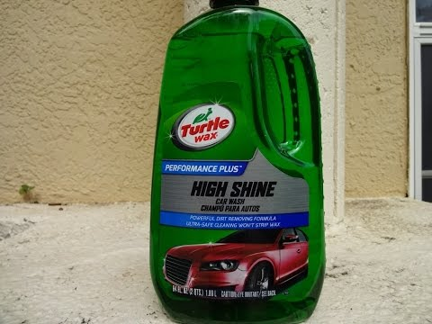 Turtle Wax High Shine Car Wash Review and Test Results on a Hyundai Tucson