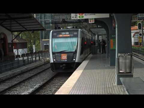 Ferrocarriles de la Generalitat de Cataluña - 113.09 en Les Planes