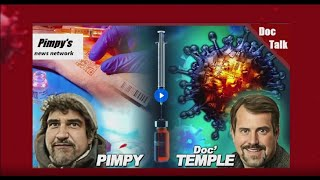 Doc and Pimpy Show in studio - Test show
