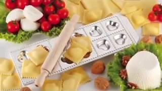 Итальянская кухня . Далаем равиоли.