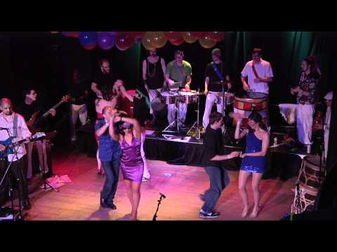 Handphibians + Evolucao Dance Co, Carnaval 2012 - Salsa Merengue Dance