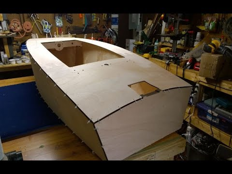 Mini Boat Build - Video #4 - Hull & Deck