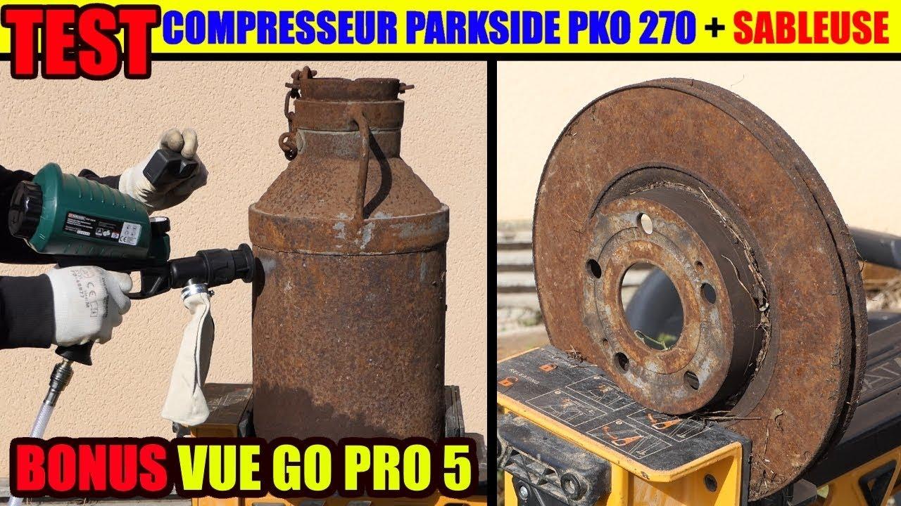 Pistolet Sablage Lidl Parkside Sableuse Compresseur Pko 270 Decaper Rouille Acier