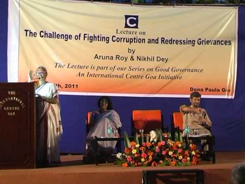 """Lecture on """"The Challenge of Fighting Corruption and Redressing Grievances"""" - Part II"""