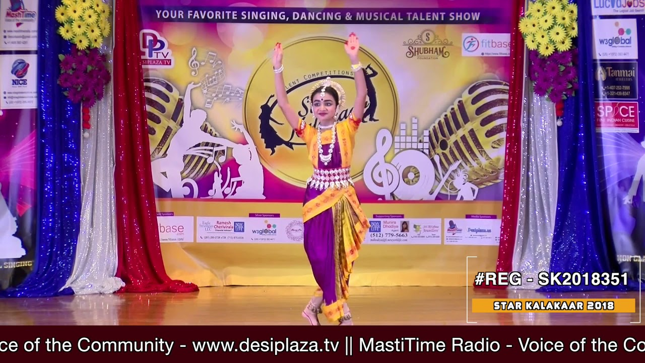 Registration NO - SK2018351 - Star Kalakaar 2018 Finals - Performance