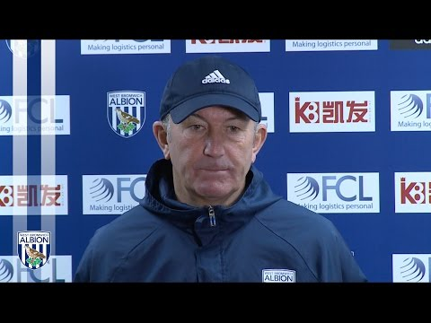 Tony Pulis previews Albion's trip to Everton