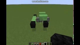 HOW TO MAKE A MOVING CAR IN MINECRAFT