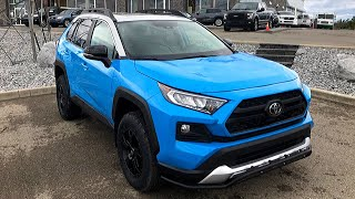 2019 Toyota Rav4 Trail; LP Adventure upgrade kit