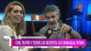 """Leo Sbaraglia íntimo: """"Fue muy importante trabajar con Almodóvar"""""""
