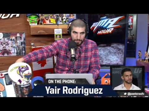 Yair Rodriguez Doesn't 'Give a F*ck' About B.J. Penn Training With Former Team
