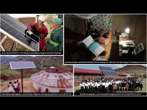 General Definition and Solar Photovoltaic Systems (Riccardo Mereu)