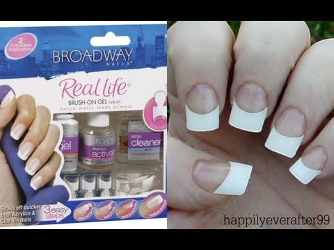 Broadway Gel Nails Kit Review/Demo