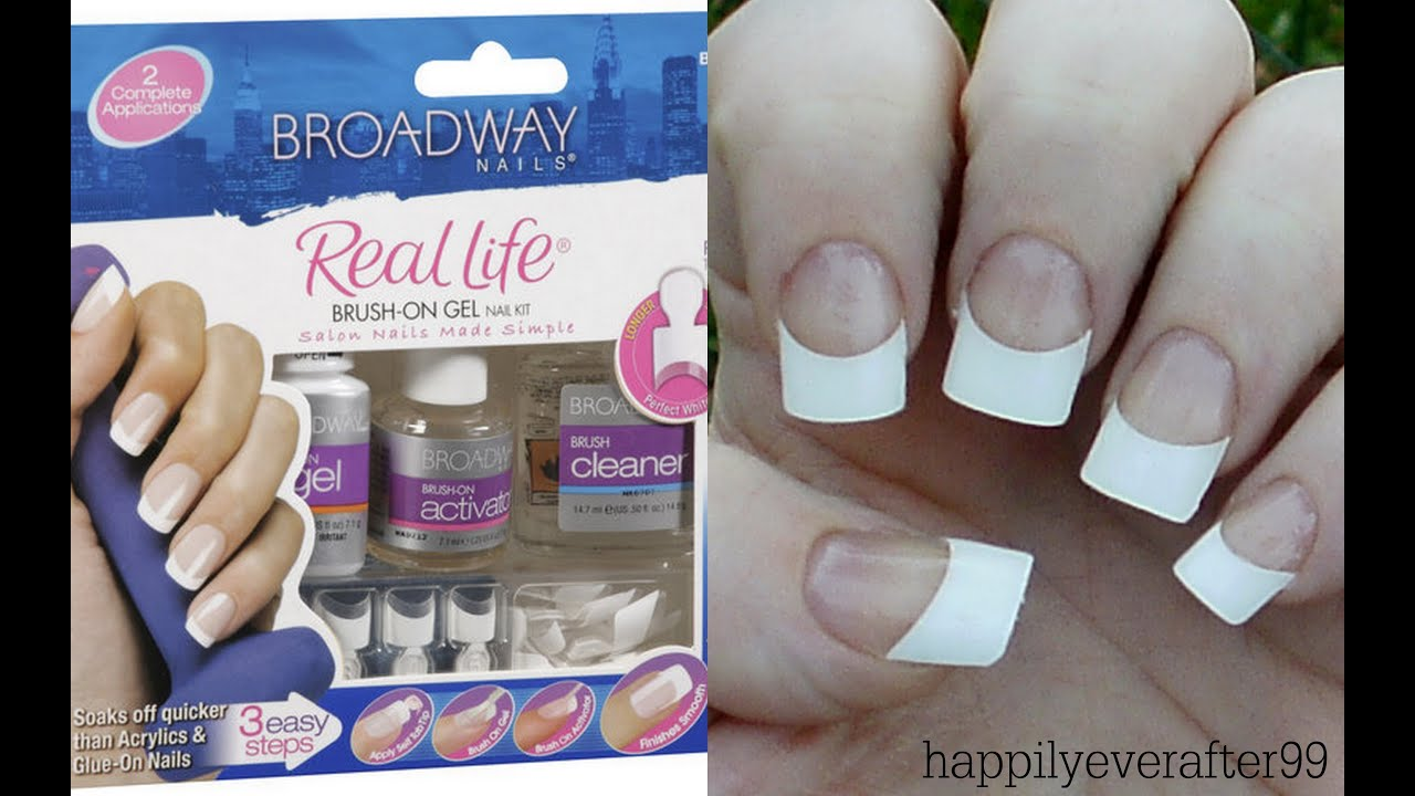 broadway gel nails kit
