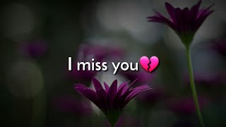 I Miss You💔|| Missing Shayari Status || Sad Shayari 2019 || Sad Hindi Shayari || [by Diksha]