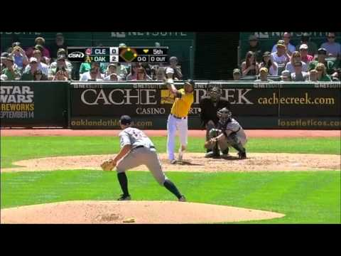 Coco Crisp 2012 highlights