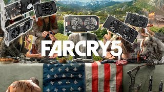 Far Cry 5 Benchmarks with Budget Graphics Cards!