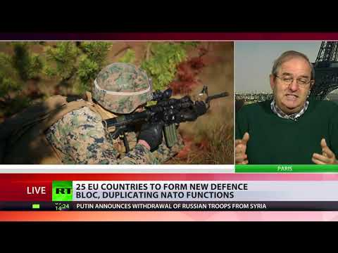 'Europe doesn't need to be defended' – political commentator on new EU defense bloc