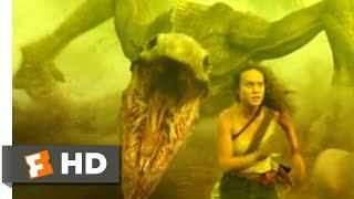 Kong: Skull Island (2017) - Skullcrawler Pit Scene (6/10) | Movieclips