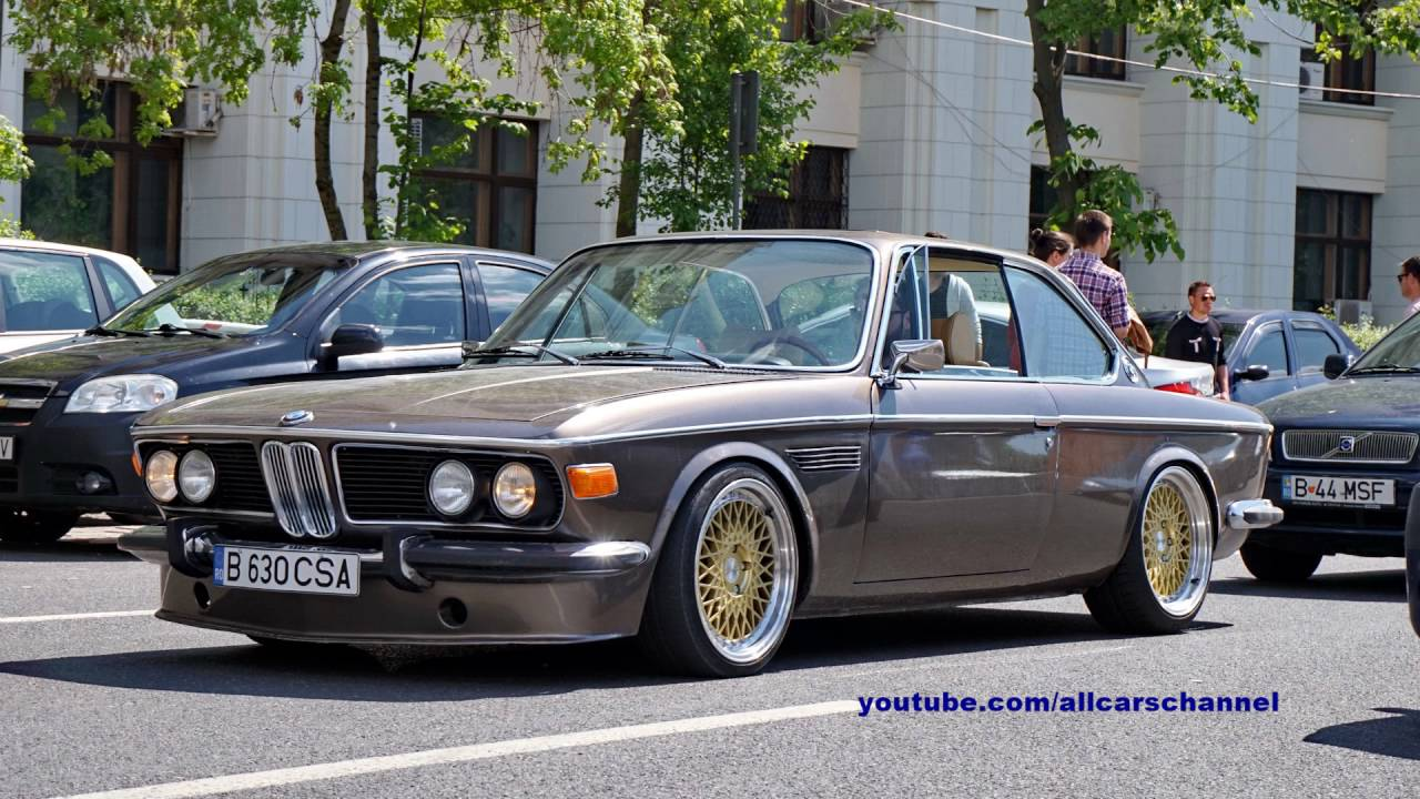 BMW E9 30 CS  YouTube